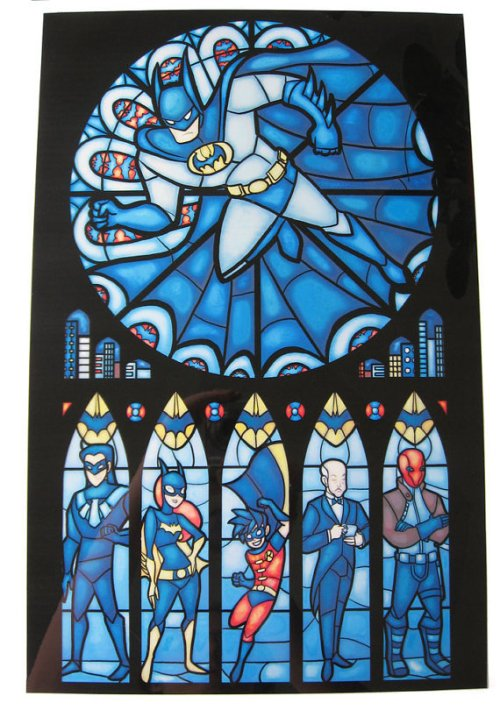 Batman-window