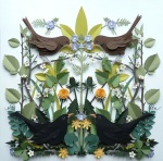 accurate wildlife papercut compositions 2