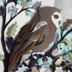 accurate wildlife papercut compositions 5